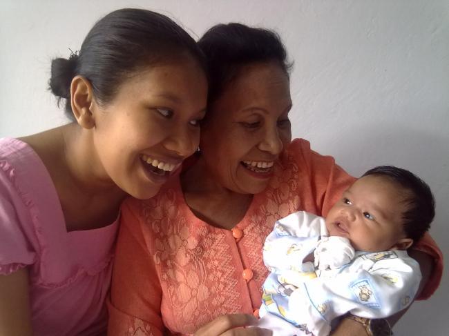 ibuku, aku, dan putriku